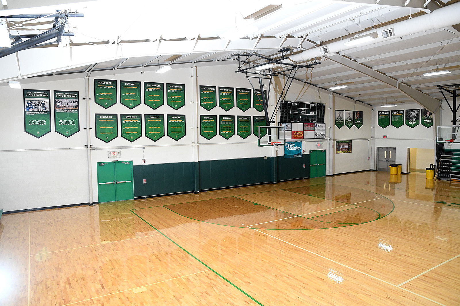 Bethel Gymnasium Graphics
