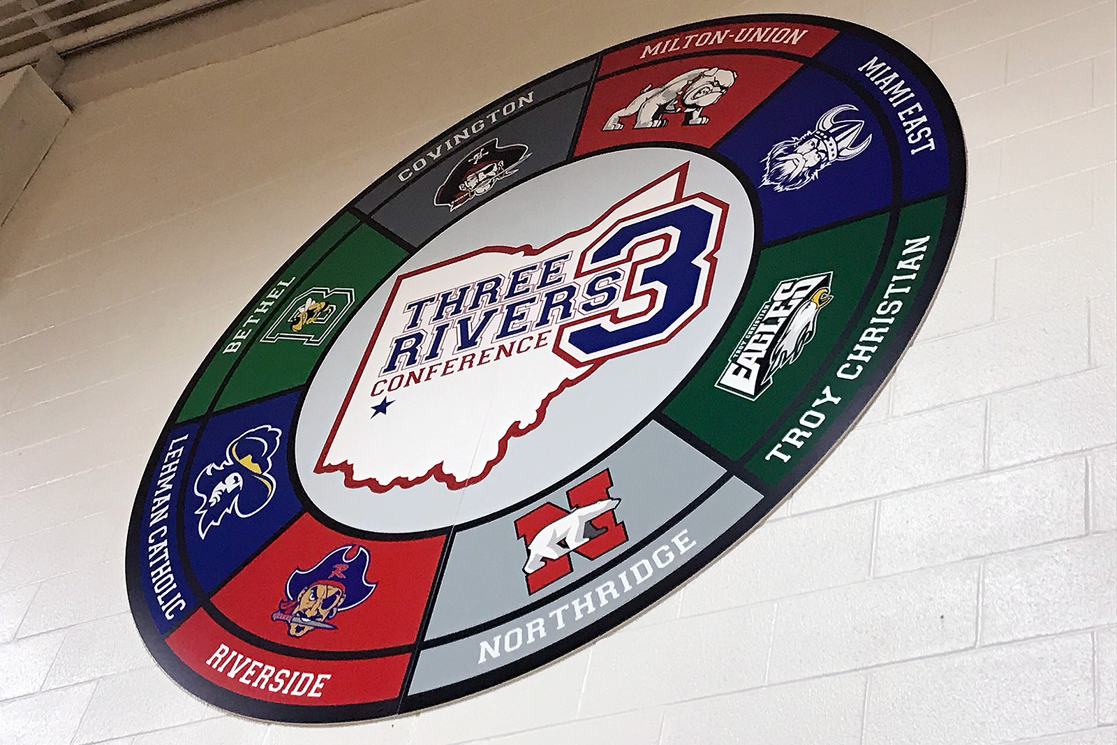 Three Rivers Conference Branding