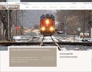 Village of Quincy Website and Branding